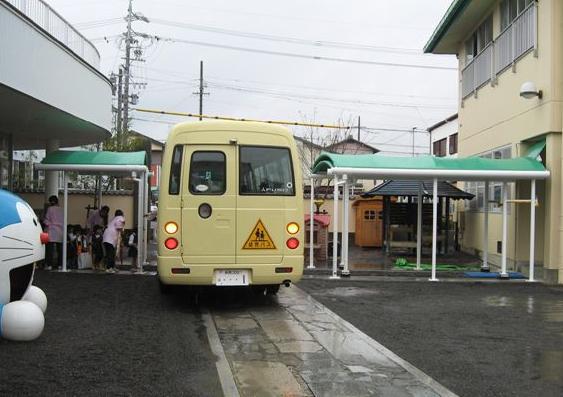 小川幼稚園雨風景